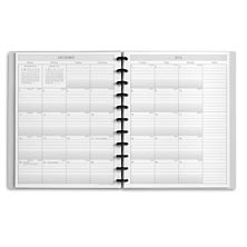 Circa Sunday Start 2-Year Monthly Calendar Notebook, Junior