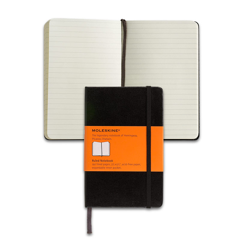 Moleskine® Pocket Notebook, Ruled