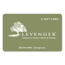Levenger E-Gift Card, Red