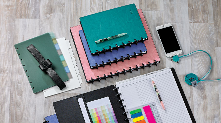Variety - The largest selection anywhere of disc-bound notebooks, agendas, refills, tools and accessories to help you customize your notebook your own way