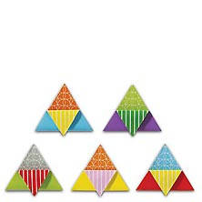 SpringTones™ Magnetic Origami Bookmarks (set of 5)
