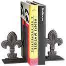 Fleur de Lis Bookends (Set of 2)