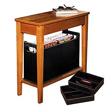 No-Room-for-a-Table™ Table with Baskets