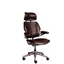 Bomber Jacket Desk Chair w/ Neck Support