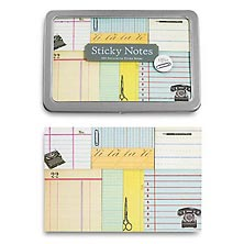 Vintage Sticky Notes, Office