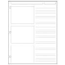 Special Request™ Storyboard (100 sheets), 3-Ring, Letter