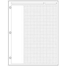 Special Request™ Annotation Grid (100 sheets), 3-Ring, Letter