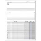 Special Request™ Project Planner (100 sheets), Unpunched, Letter
