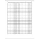 Special Request™ Engineer Grid (100 sheets), Unpunched, Letter