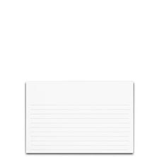 Special Request™ Horizontal Ruled 4 x 6 Cards (set of 100)