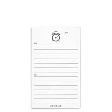 Special Request™ 3 x 5 Tasker Cards, Schedule (set of 100)