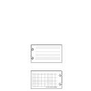 Special Request™ Ruled/Grid (100 cards), Circa Micro PDA