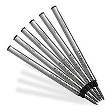 6 Levenger Fiber Tip Refills-Medium