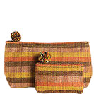 Aldea Global Woven Organizer Pouches (set of 2)