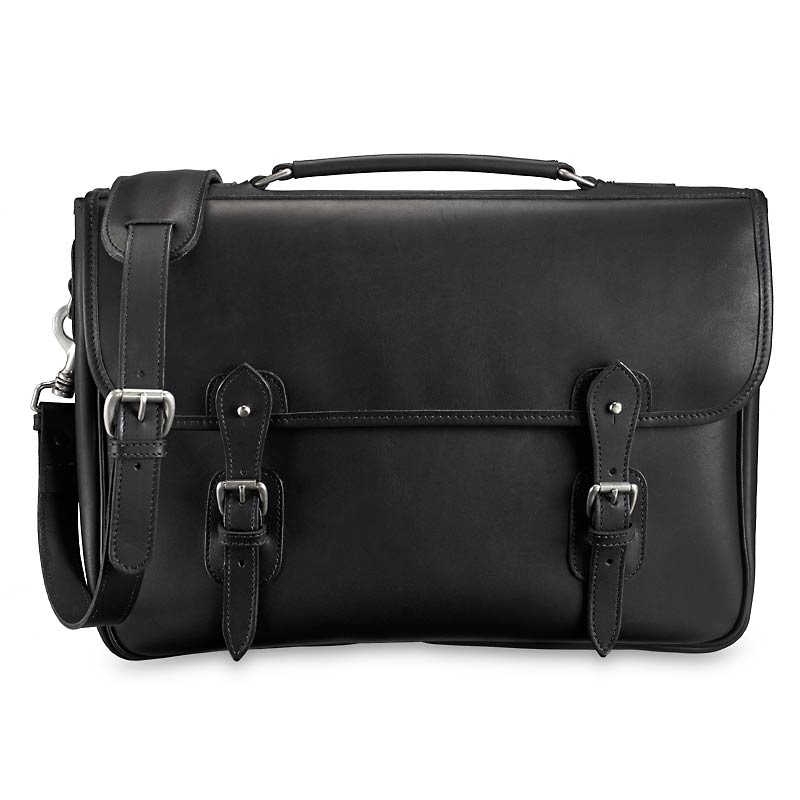 Tusting Messenger Brief , Black
