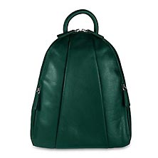 Marley Teardrop Multi Zip Backpack - Pine