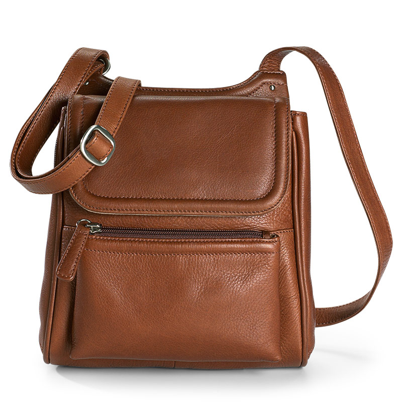 Marley Cross-Body Organizer, Brown