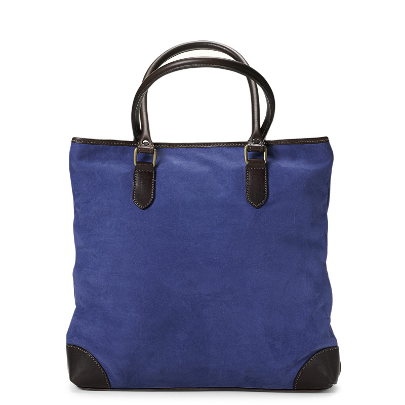 English Nubuck Mollie Bag, Blue