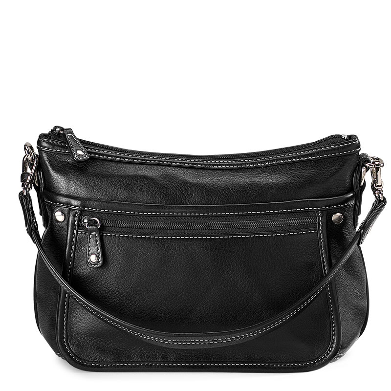 Carezza Organizer Handbag, Black