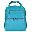 Levenger Convertible Backpack, Aqua