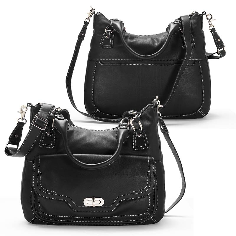 Carezza Convertible Carryall, Black