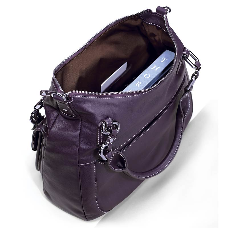 Carezza Convertible Carryall, Eggplant