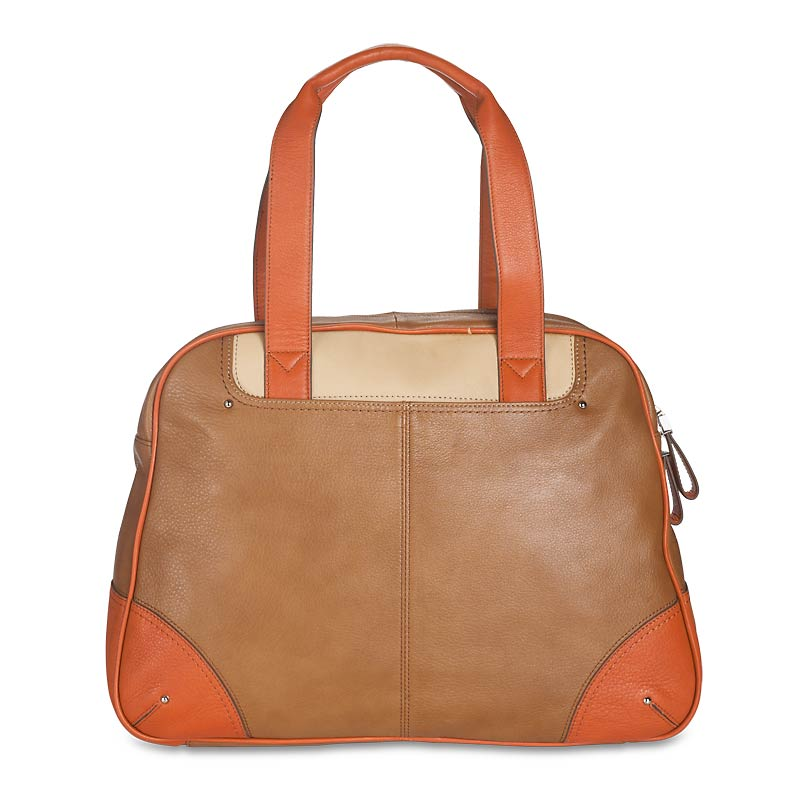 Raffinato Color-Block Satchel