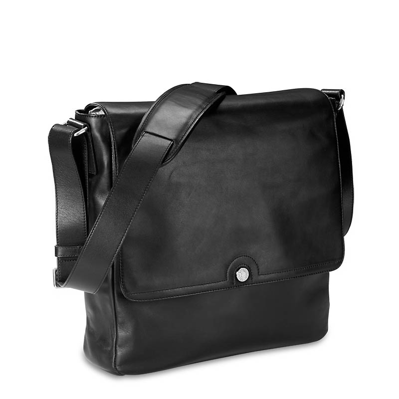 Levenger Select Messenger-Black