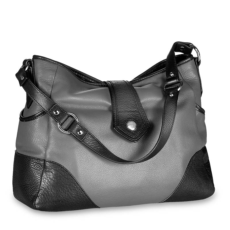 Paragon Hobo W/Wristlet - Granite