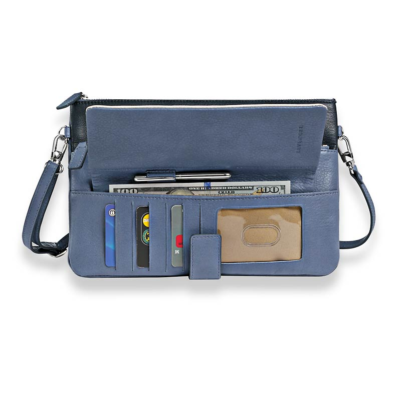 Raffinato Color Block Ipad mini wallet and pen