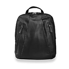 Compact Laptop Backpack, Black