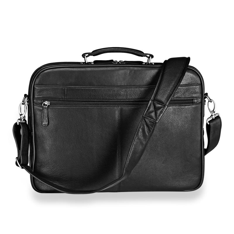 Delano Laptop Briefbag, Black