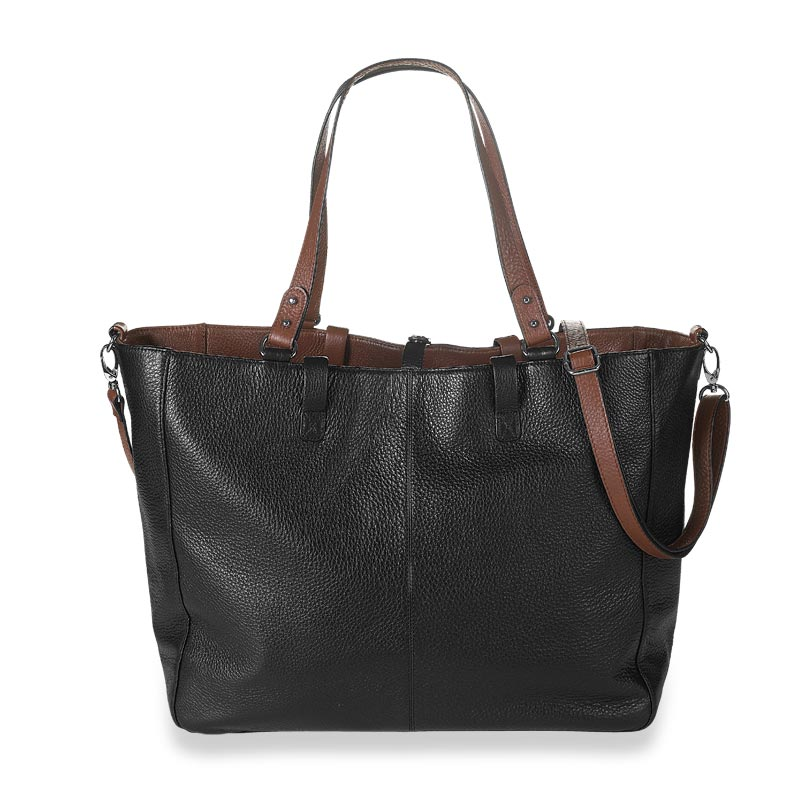 Your Bag, Your Way Tote, Brown/Black Reversed