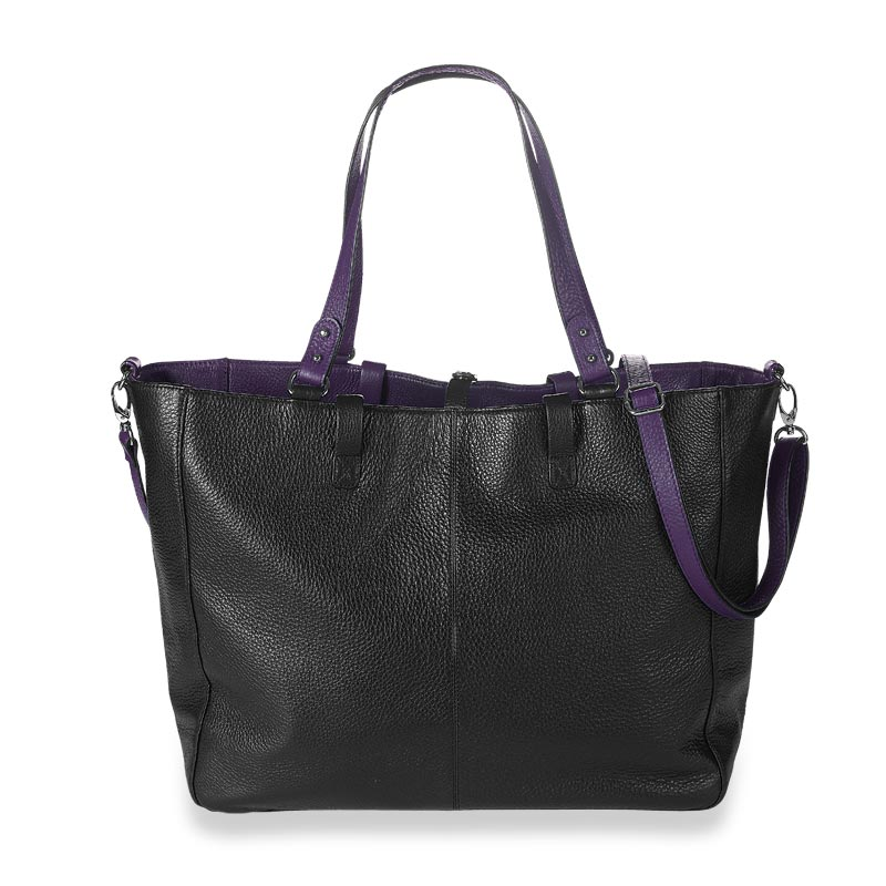 Your Bag, Your Way Tote, Grape/Black Reversed