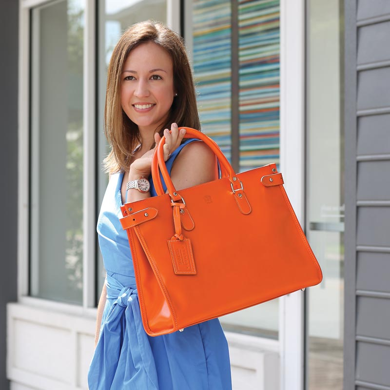 Tusting Kimbolton Tote, Orange