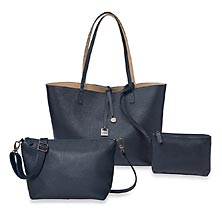 Uptown Reversible Tote and Downtown Crossbody