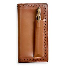 Wingtip Checkbook Cover