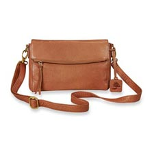 Nancy Convertible Clutch - Caramel