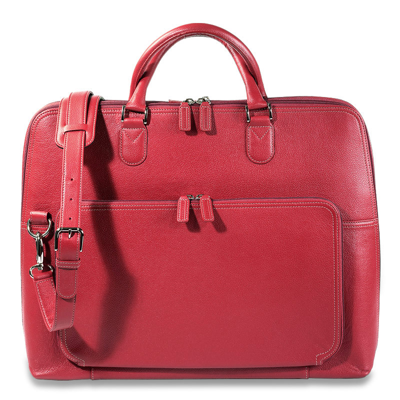 Majorca Expandable Laptop Bag, Red