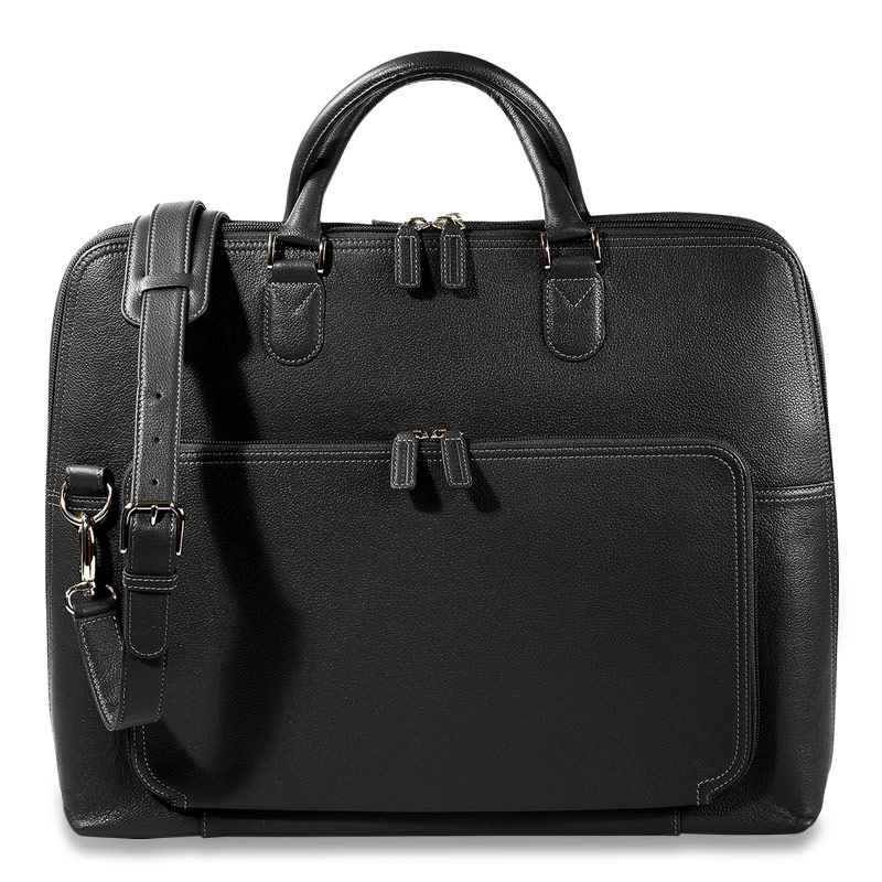 Majorca Expandable Laptop Bag, Black