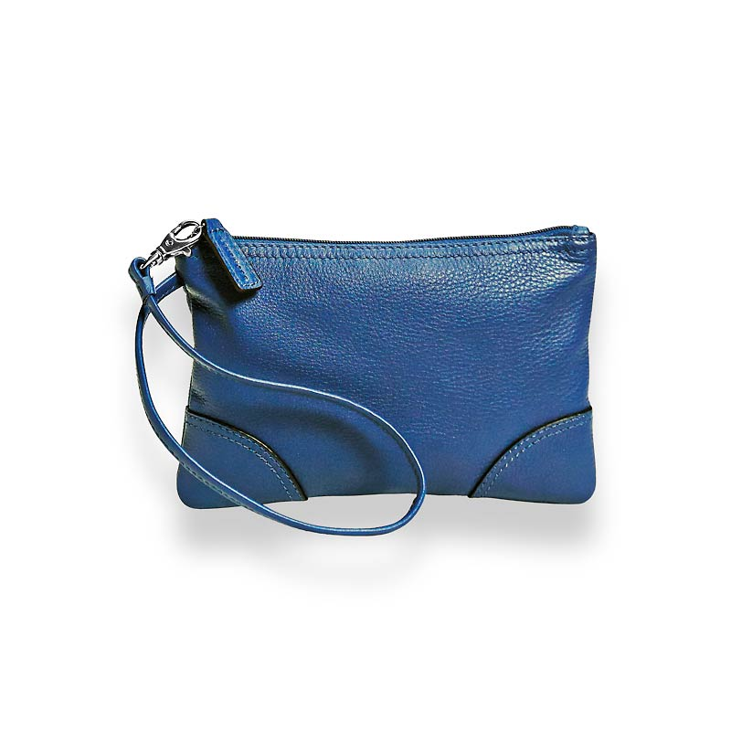 St. Tropez Leather Pouch, CB