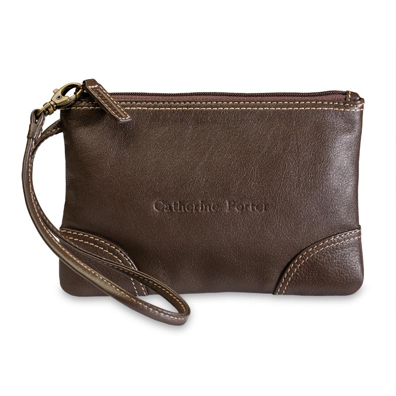 St. Tropez Leather Pouch, CT