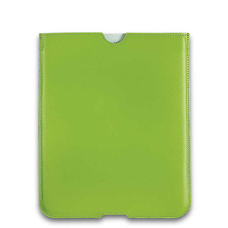 English Leather iPad Sleeve, Green