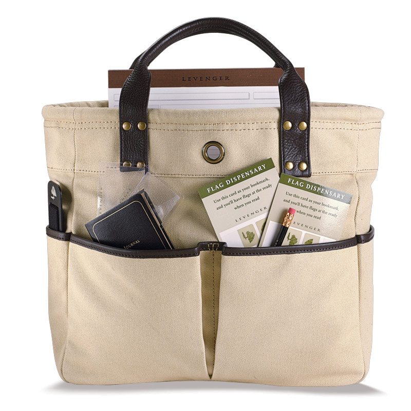 Bloomsbury Bookbag (Stocked with Tools), Beige