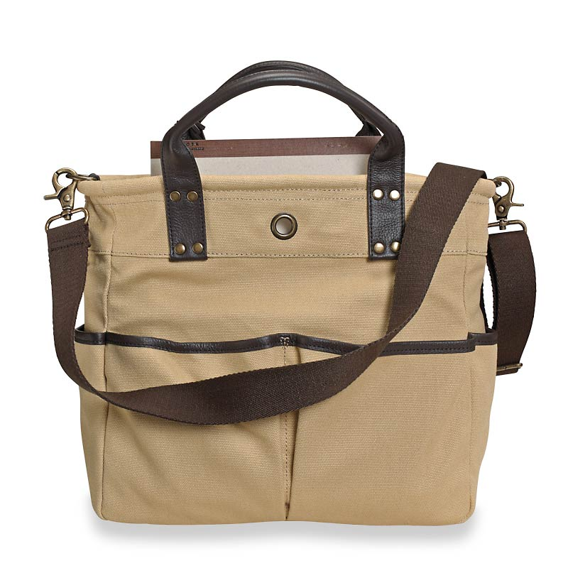 Bloomsbury Bookbag, Beige