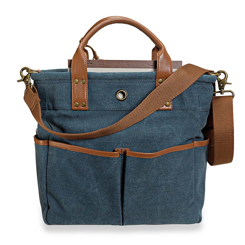 Bloomsbury Bookbag, Blue