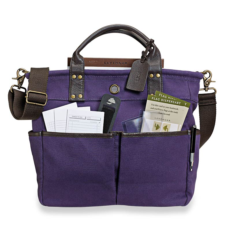 Bloomsbury Bookbag, Purple