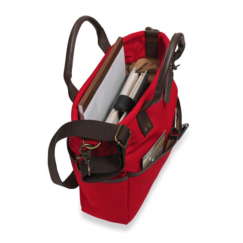 Bloomsbury Bookbag, Red