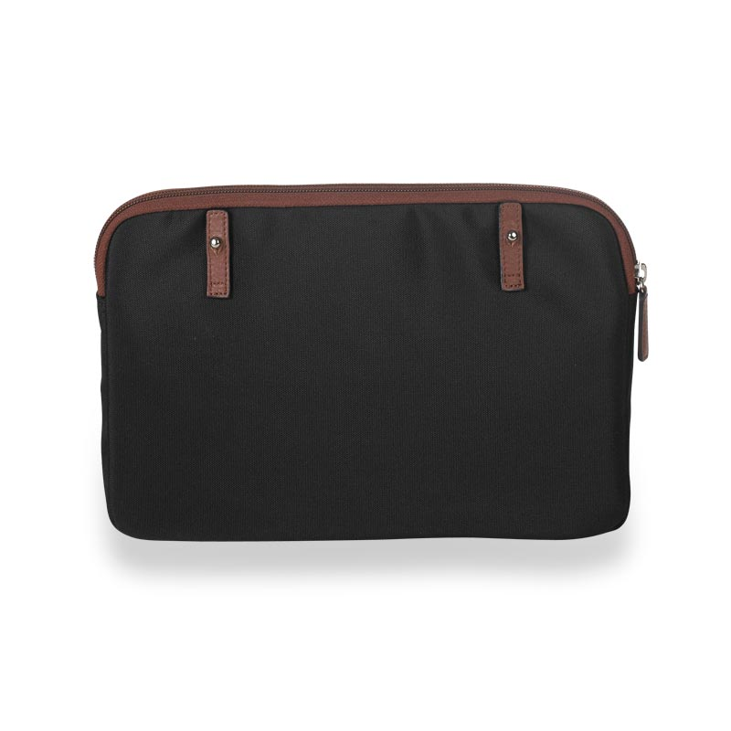 Your Bag, Your Way Tablet Sleeve, Black/Brown