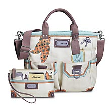 Madeline Bookbag and Pouch